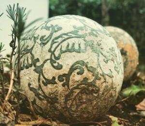 Keramik Kugel Garten garteling.at Gartenblog Cecerle